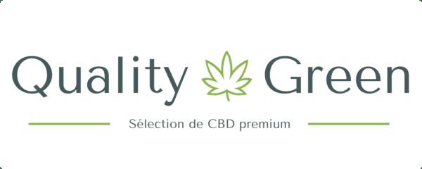 Quality Green | CBD premium 100% bio Logo